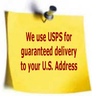 Guaranteed Delivery to USA