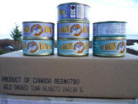 Case of smoked or regular solid white albacore tuna