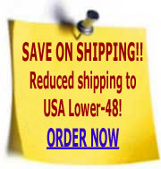 NEW! Lower shipping to USA Lower-48